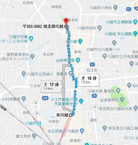 高澤不動尊 地図
